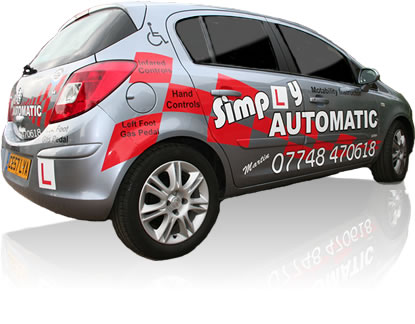 get driving lessons Cardiff with Simply Automatic Driving School